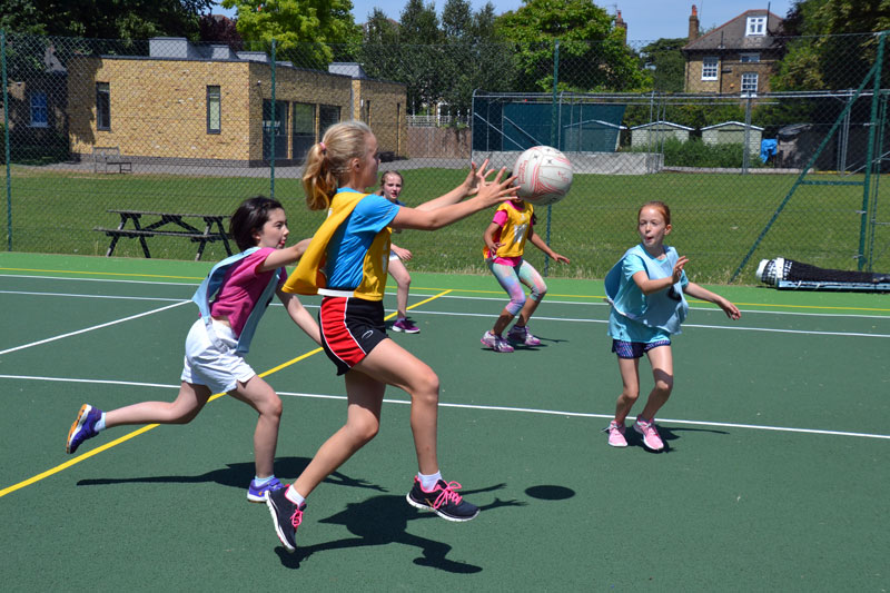 Beacons Netball Training Academies 2017