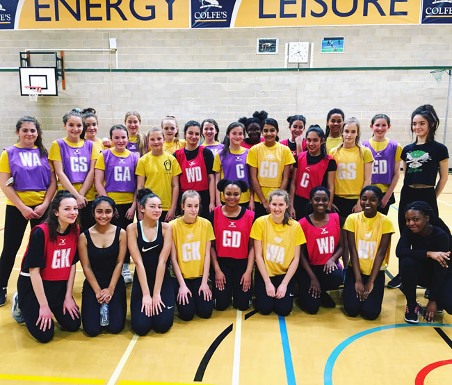 Beacons Welcome Chaos Netball Club