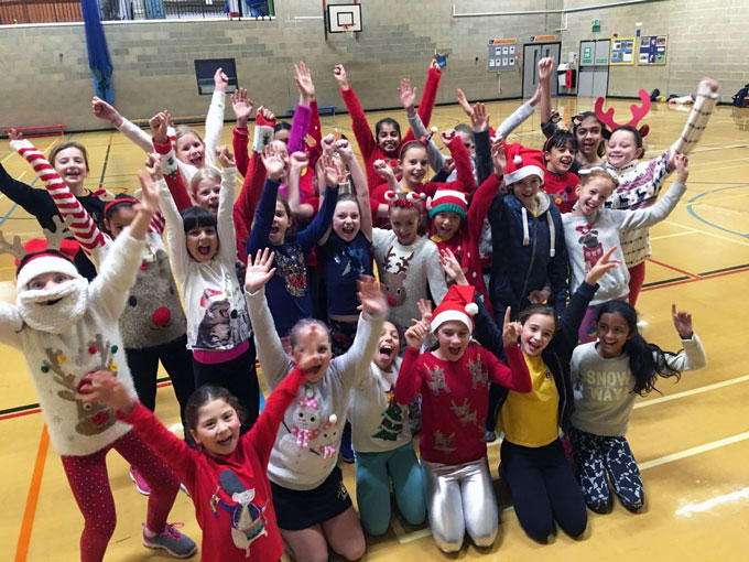 All the fun and games of Christmas week at our Academies!